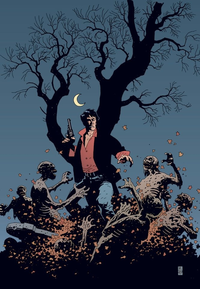 Dylan Dog by Mike Mignola.