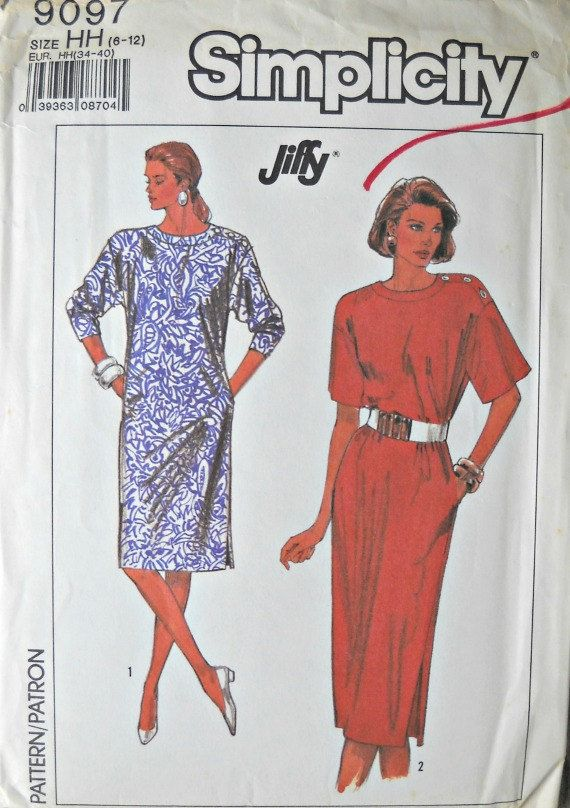 Hey, I found this really awesome Etsy listing at https://www.etsy.com/listing/522187289/simplicity-9097-dress-pattern-sizes-6-12