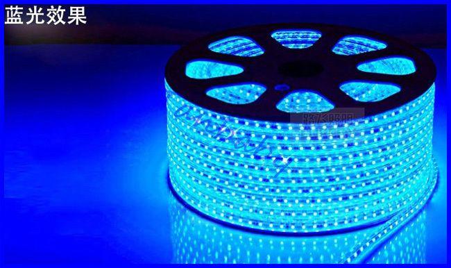 Tanbaby 2835 светодиодные полосы с ЕС вилку AC 220 В 120 led/М, ярче, чем 3528 водонепроницаемый гибкие светодиодные бар на открытом воздухе украшения
