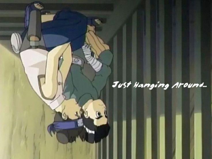 Hanging around. Tenten and Rock Lee - Naruto