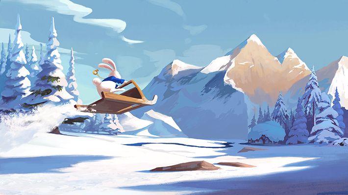 Ailce in wonderland Rabbit by Ariel Belinco, via Behance