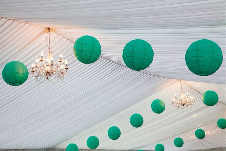 Marquee ceiling.