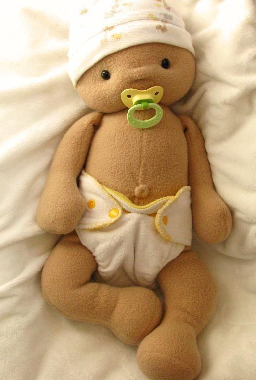 "Baby Mine Doll Sewing Pattern pattern on Craftsy.com, 19"" baby doll, $10.00 PDF pattern"
