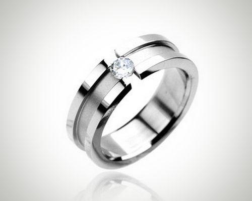 Artistic Love by Blue Steel Order Here #BuyBlueSteel #Ring #CZRing #WeddingRing #Men Women #Jewelry