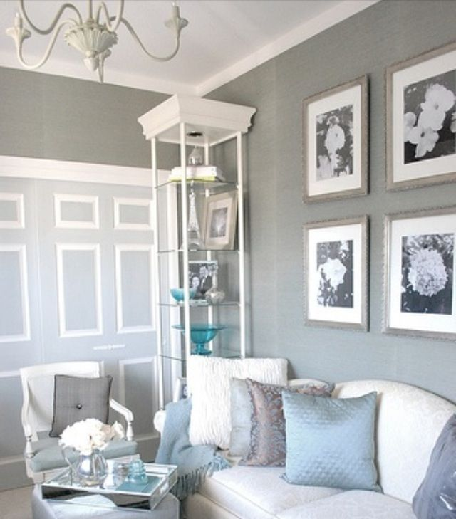 Gray Living Room Gray Home Decor Color Trends 2014 Via The Decorating Div