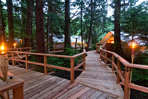 10 Unique Glamping Destinations | Clayoquot Wilderness Resort, British Columbia, Canada | TIME.com