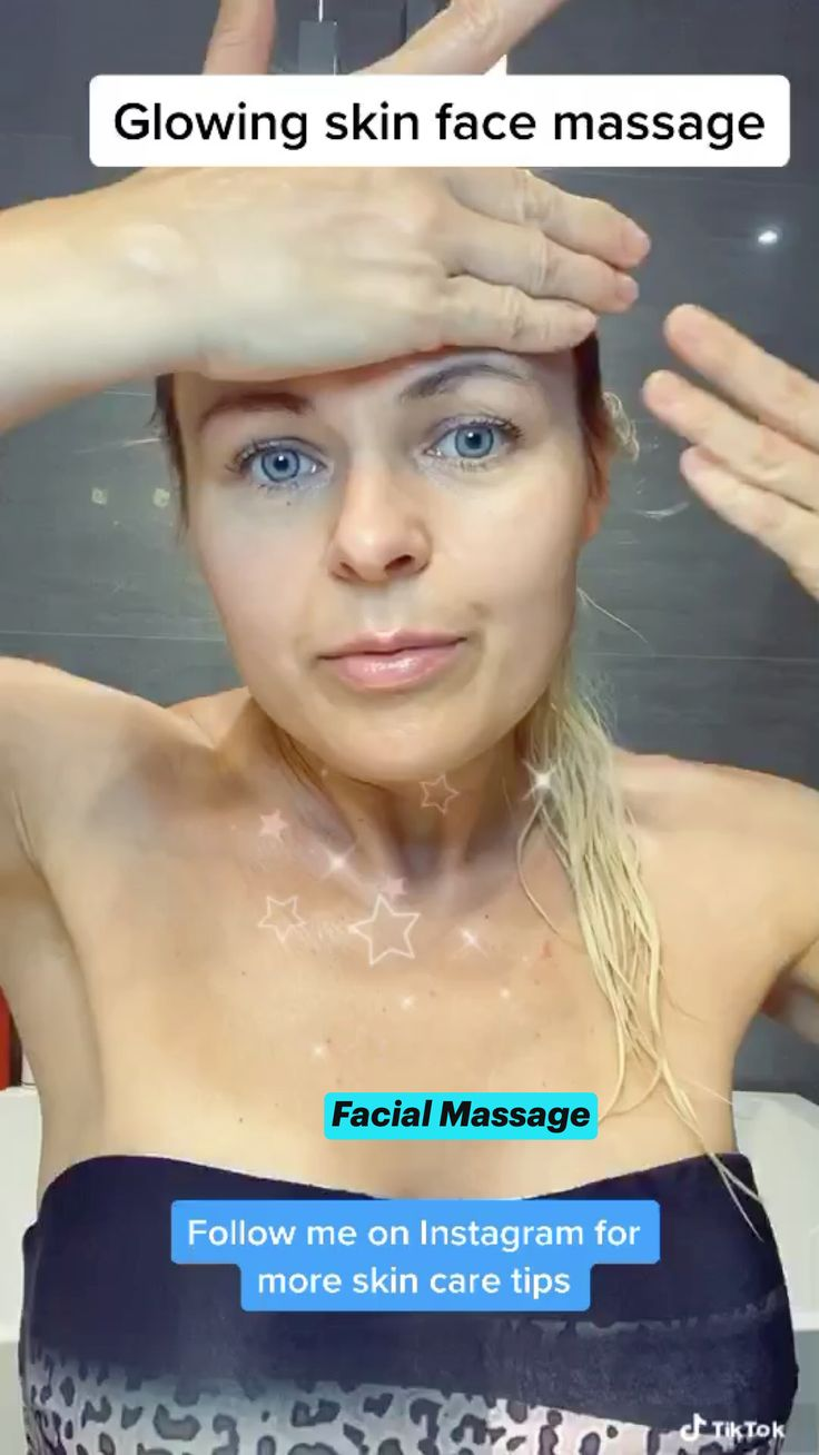 Massage Facial, Facial Yoga, Massage Tips, Beauty Tips For Glowing Skin, Health And Beauty Tips, Beauty Skin, Skin Care Routine Steps, Skin Care Tips, Face Exercises