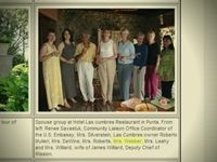 "Sen. Thad Cochran's longtime executive assistant was listed as being part of a ""spouse group"" and photographed participating in recreational events for senators' spouses on a taxpayer-funded trip in 2004 to South America."