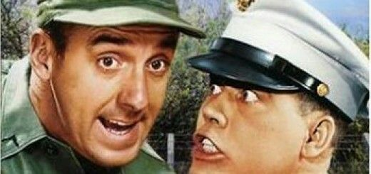 Jim Nabors and Frank Sutton from Gomer Pyle USMC