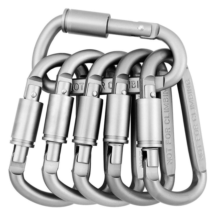 New Set of Aluminum Carabiners
