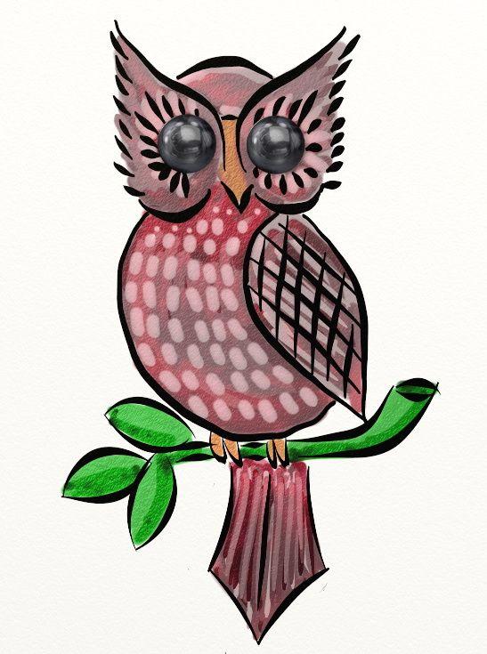 Jewel Owl - February 28, 2014