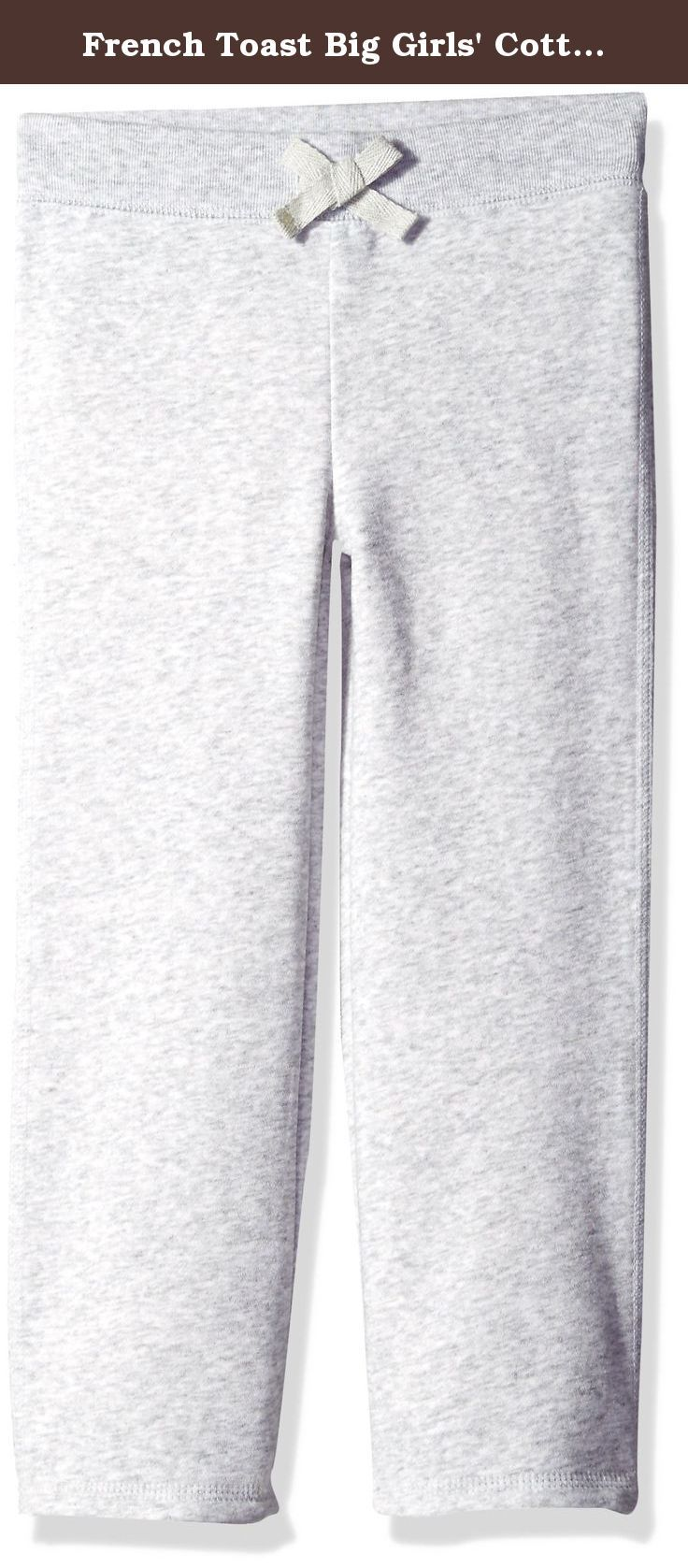 melhores ideias sobre should students wear uniforms no french toast big girls cotton blend fleece pant heather grey 14 16