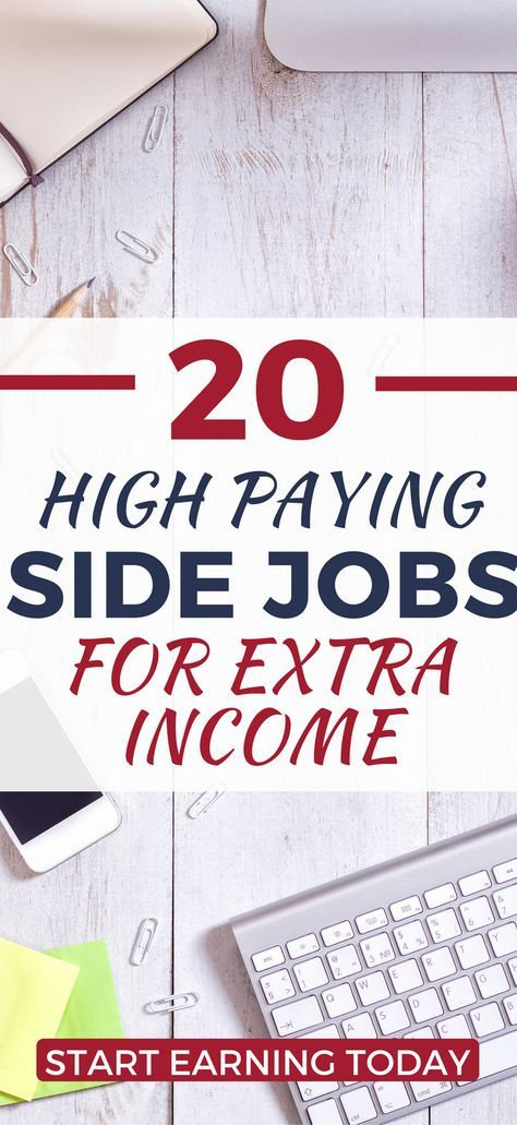 Need some extra cast, fast? Here's high-paying, flexible part-time job ideas you can start today to make extra income. earn more money | make more money | make money at home | home business ideas | work from home | increase your income | money making ideas | make money fast | make money online | make money from home #money #jobs #finance #makemoney