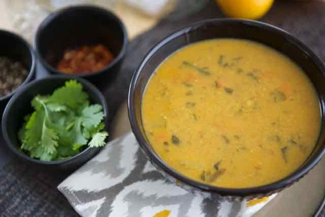 Coconut Curried Vegetable Soup - The Soup Solution