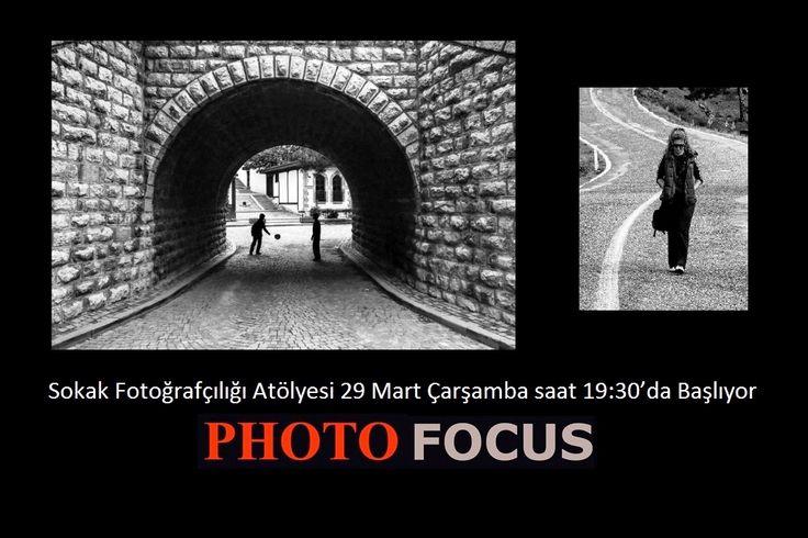 Sokak Fotoğrafçılığı Atölyesi 29 Mart Çarşamba saat 19:30'da Başlıyor…