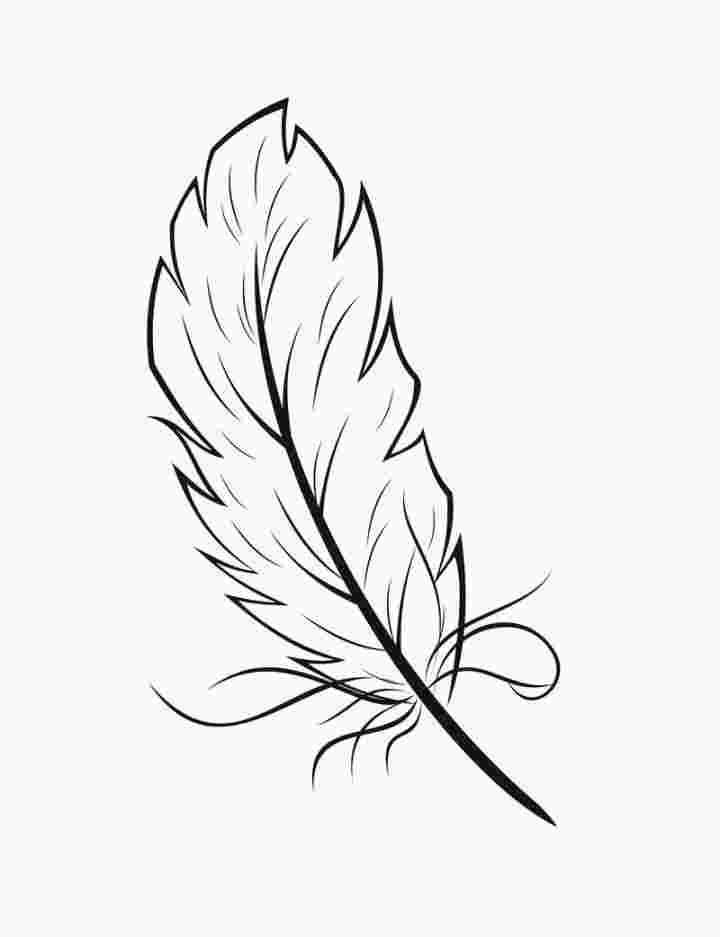Best Printable Indian Feathers Coloring Pages 3333 Amazing