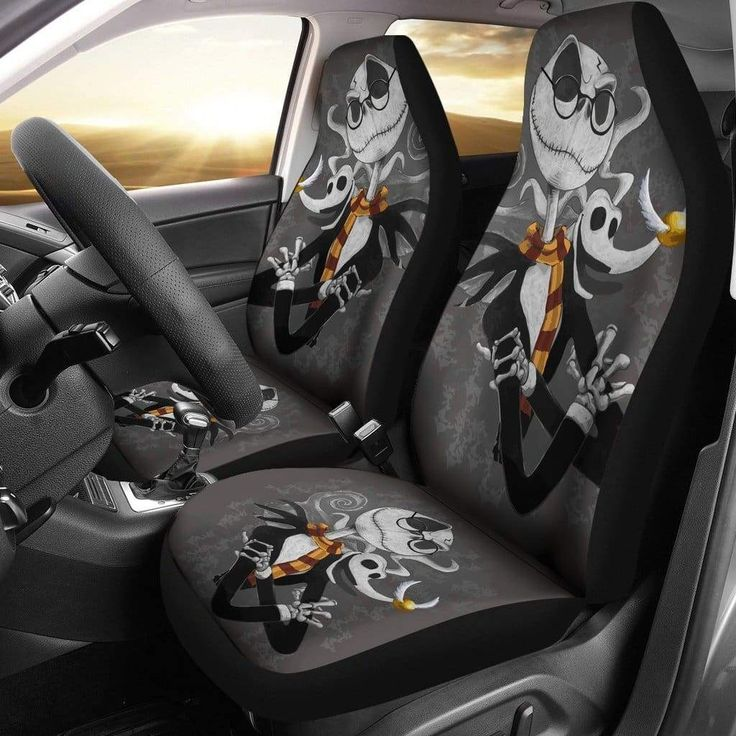 Jack Skellington and Philosophers Stone Car Seat Covers in 2020  Disney car accessories
