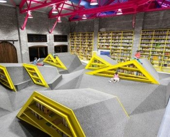 22 best childrens libraries images on pinterest childrens library features shelves that are meant to be climbed pics childrens sciox Images