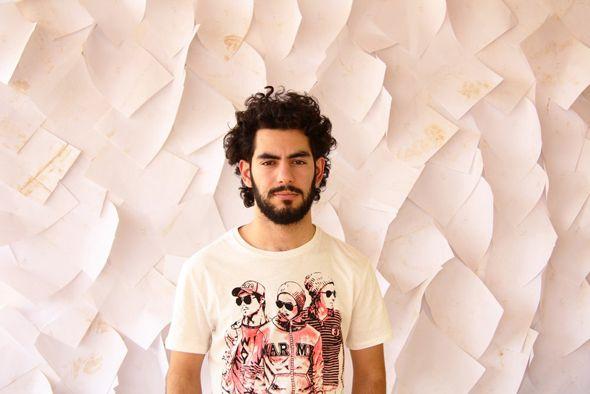 Iranian singer-songwriter Alaa Wardi