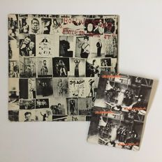 """EXILE ON MAIN ST"" with the 12 original POSTCARDS"