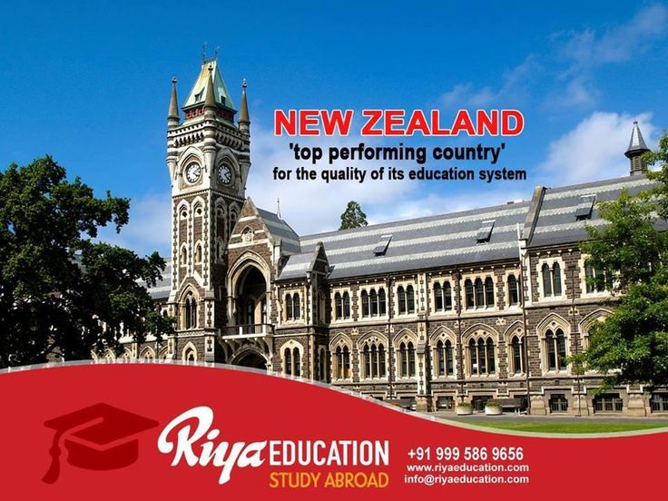 Study in New Zealand: The Paradise on Earth beckons the talented. For more details on study abroad programs get in touch with Riya Education. Visit our website for contact details.