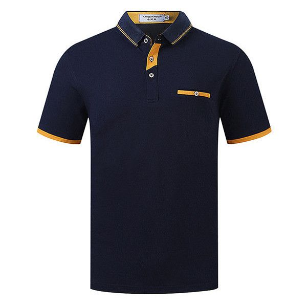 s Spring Summer Polo Shirt Soft Knitted Cotton Solid Color Short... (€16) ❤ liked on Polyvore featuring men's fashion, men's clothing, men's shirts, men's polos, mens short sleeve shirts, mens long sleeve shirts, mens long sleeve summer shirts, mens long sleeve polo shirts and mens short sleeve polo shirts