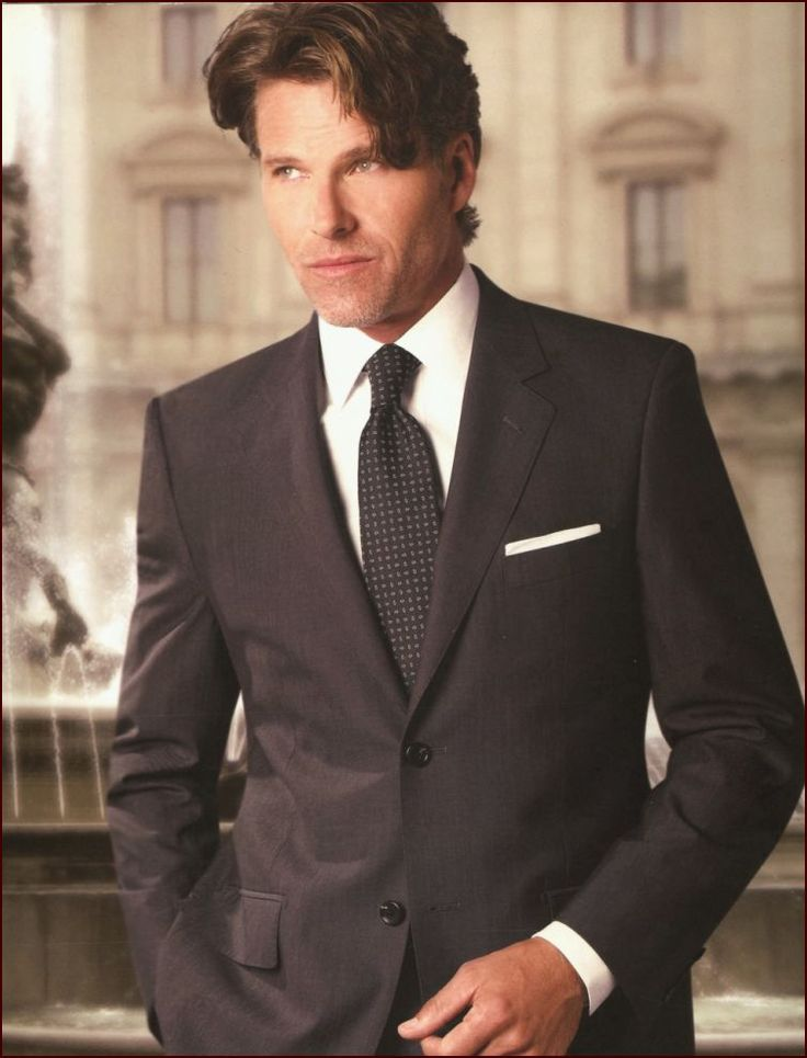 Baroni 2 Button Mens Suit Like The Darkness Of This Suit