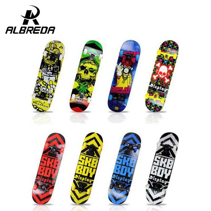 Madeira de bordo 4 rodas Lixa À Prova D' Água de Alta-densidade Completa Skates longboard ABEC-9 rolamentos de aço cromo profissional
