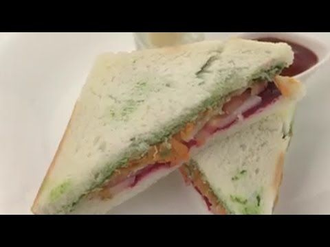how to make delicious Healthy Street Food Sandwich EASY FOOD RECIPES