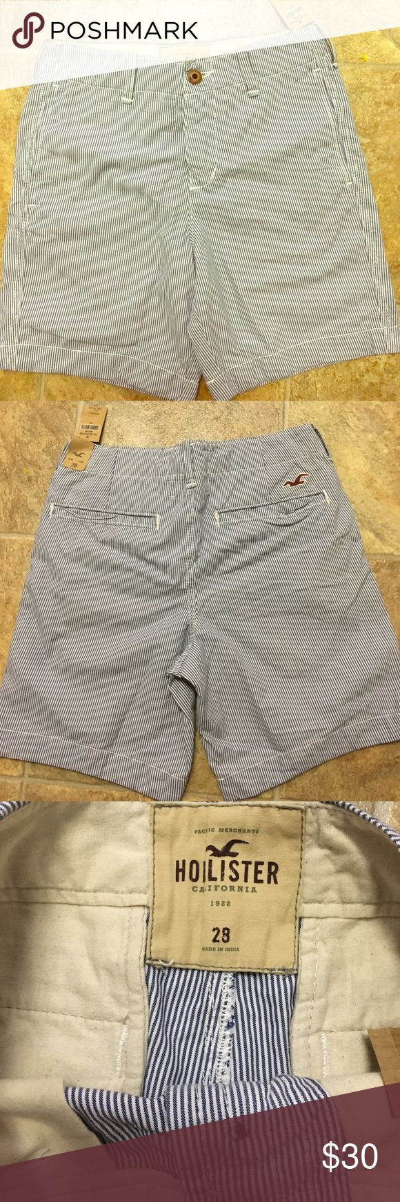 Hollister guys shorts NWT Hollister Shorts Flat Front