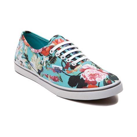Vans Authentic Lo Pro Floral Skate Shoe