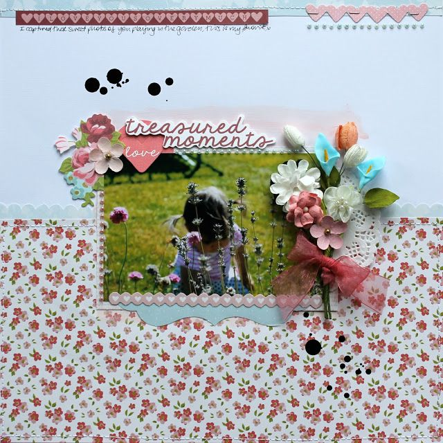 Kaiser craft Secret Garden Layouts (Artfull Crafts) - Melissa Vining