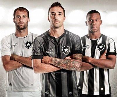 Conheça as camisas do Botafogo 2016-2017 assinadas pela Topper para o Campeonato Brasileiro. Veja detalhes dos novos uniformes do Fogão para a temporada!