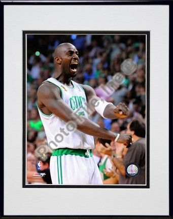 Kevin Garnett, Game Six of the 2008 NBA Finals; Action #38 Double Matted 8â€� x 10â€� Photograph in… #Sport #Football #Rugby #IceHockey