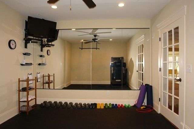 Home Gym Design: Home, French Doors And Outdoors