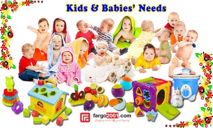 Mainan sangatlah penting untuk perkembangan anak Anda ! Untuk itu, fargo2001.com mempersembahkan berbagai pilihan mainan bayi dan anak serta kebutuhan bayi lainnya ! http://fargo2001.com/perlengkapan-bayi-amp-anak-anak-128 . Untuk petunjuk fungsi mainan bagi perkembangan anak Anda, lihat di sini http://gosocio.co.id/pentingnya-mainan-untuk-perkembangan-anak.html
