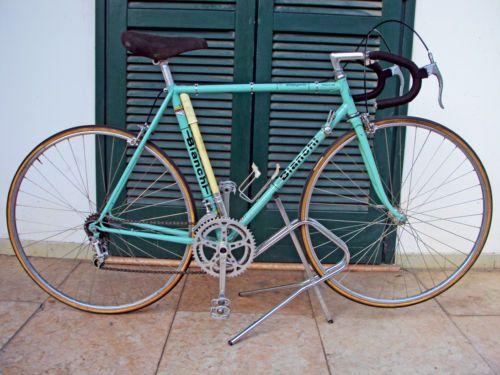 Bici-da-corsa-BIANCHI-REKORD-746-Campione-del-Mondo-73-74-Vintage-Campagnolo