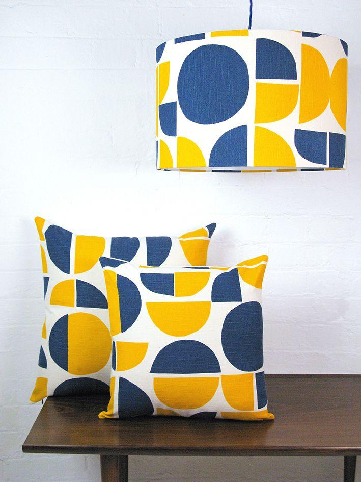Tamasyn Gambell | Radius Cushions + Lampshade | www.tamasyngambell.com