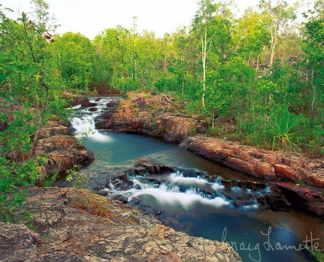 Buley Rock Hole Litchfield National Park NT Australia by Craig Lamotte - spent an entire day here :)
