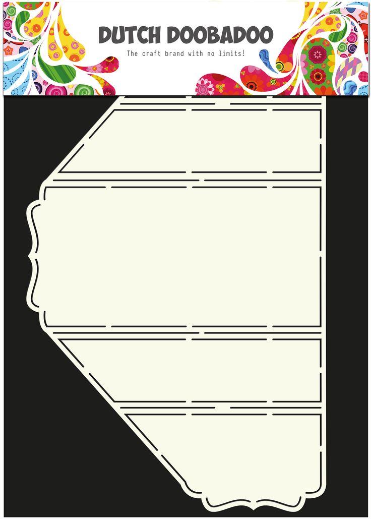 470.713.303 Dutch Doobadoo Card Art Stand-Up card