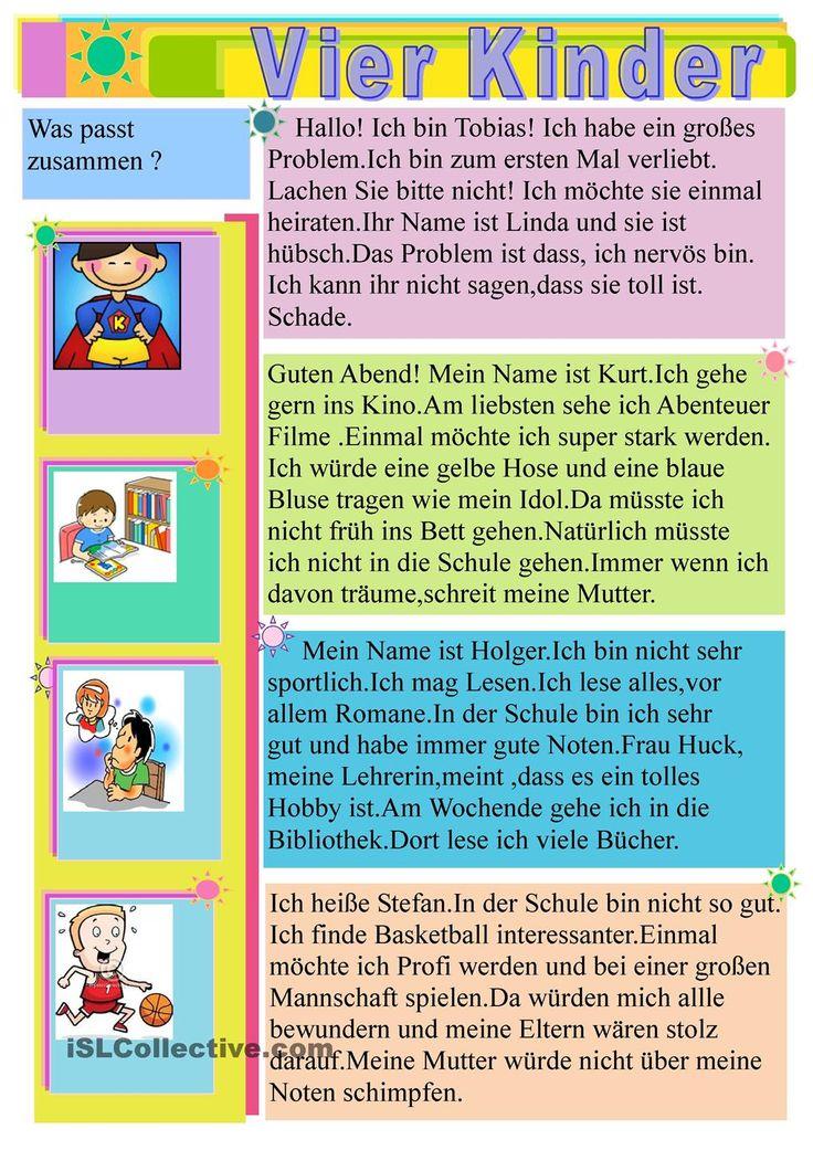 2847 best deutsch als fremdsprache images on pinterest student centered resources worksheets. Black Bedroom Furniture Sets. Home Design Ideas