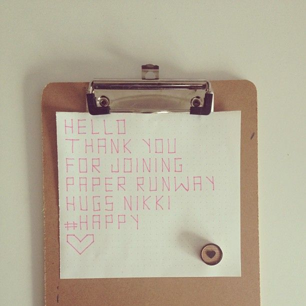 """@Paper Runway where passion meets paper's photo: """"Welcome lovers of paper, art and design. Super duper excited that you have joined us. #happy #500 #paper #paperrunway"""""""