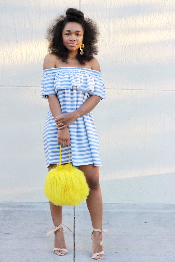 StyleLust Pages: Off The Shoulder With Stripes