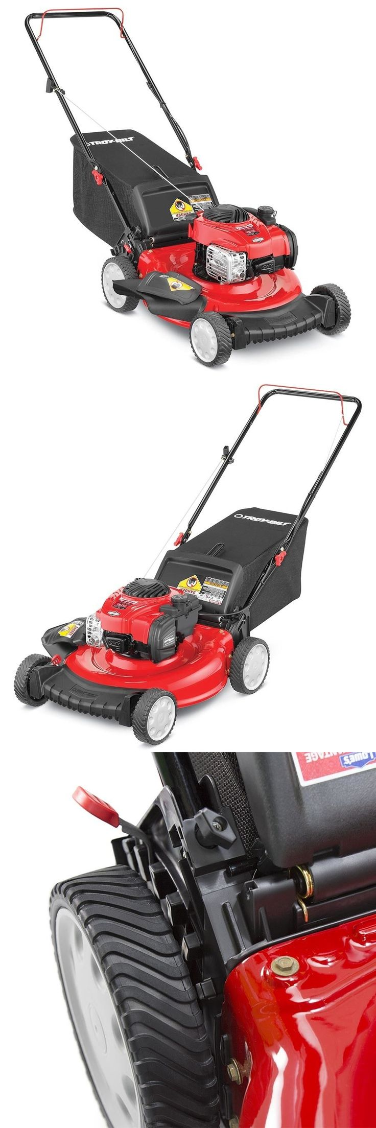 Chippers Shredders and Mulchers 42228: Troy-Bilt Tb110 140-Cc 21-In Residential Gas Push Lawn Mower New! Sale! -> BUY IT NOW ONLY: $130 on eBay!