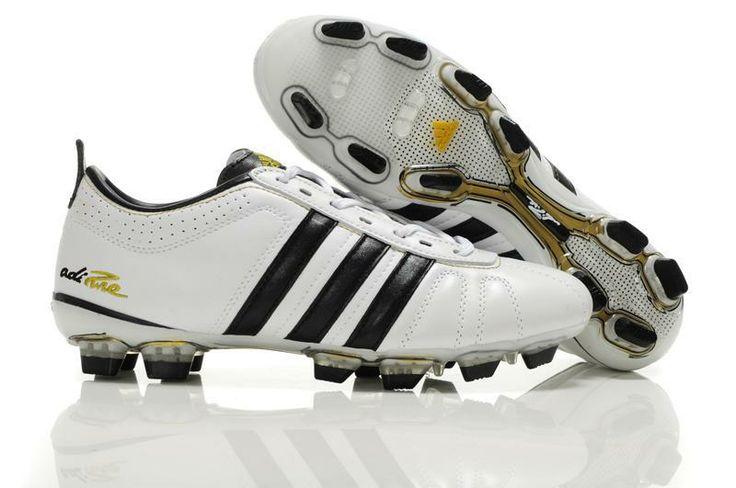 Tienda de Adidas Adipure Iv Trx Fg Zapatos De Fútbol Negro Blanco 6sp-Personalizar Botas de Futbol