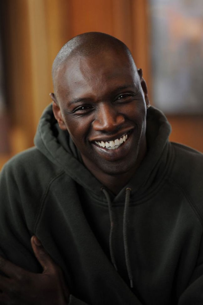 Omar Sy from The Intouchables... This man's smile is like a brilliant warm sunshine