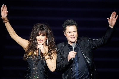 Donny and Marie show in Vegas