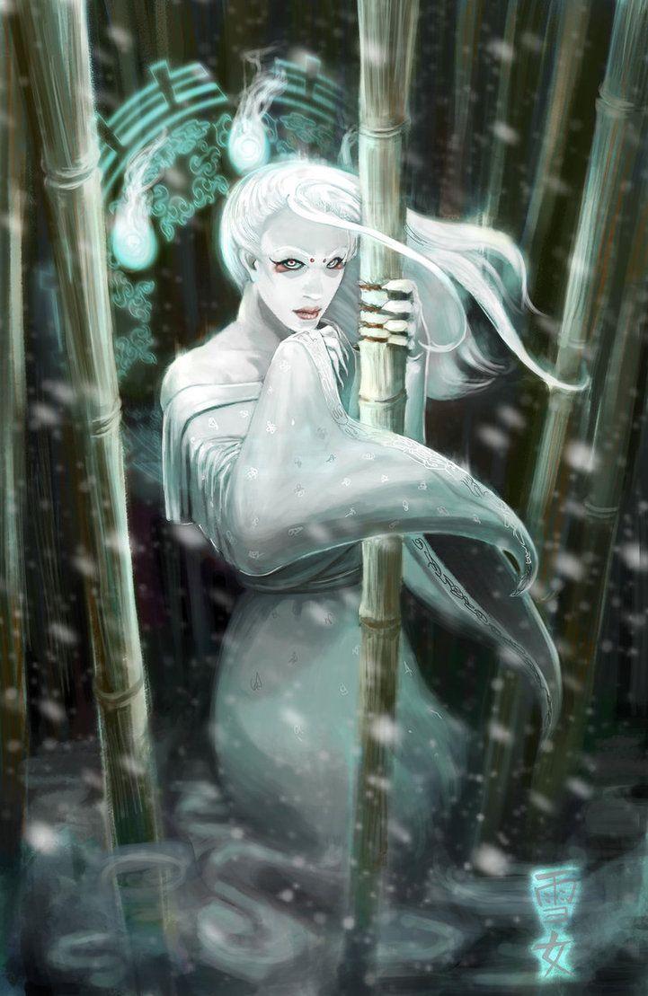Yuki Onna by Belindi