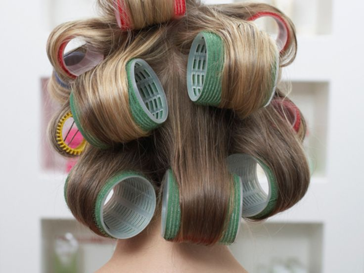 Coming at just-dried with another hot tool can overwork your hair's texture, Farel says. Instead, further pump up hair by letting it cool on Velcro rollers—Goody's set of self-holding rollers ($9; target.com) has a mix of sizes that works for every length of hair. Roll hair away from your face in sections, concentrating on hair from your forehead to your crown, and let set for at least 10 minutes before removing.