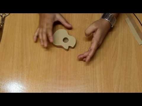 Fofuchas. Como hacer una guitarra en goma eva o foamy. - YouTube